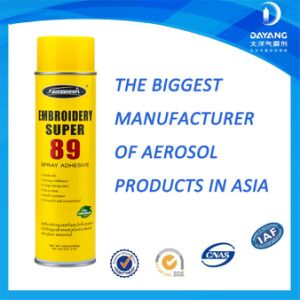 Repositionable Transparent Fabric Adhesive Embroidery Spray Adhesive 89