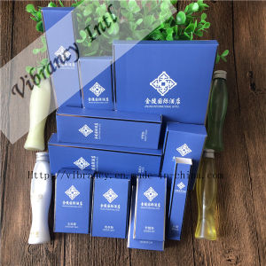High Hotel Disposable Blue Soft Paper Packaging Hotel Supplies pictures & photos