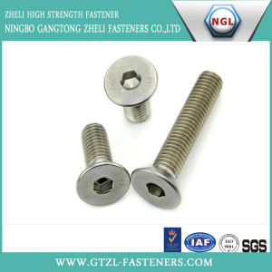 DIN7991 Hexagon Socket Countersunk Head Screws A2-70 pictures & photos