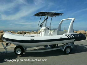 Liya 11-27feet Sport Rib Boat Semi-Rigid Inflatable Boat pictures & photos
