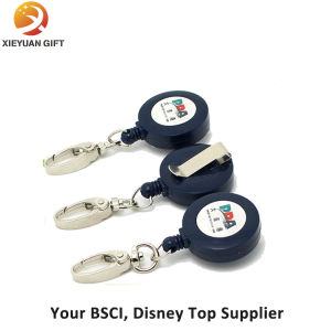 Custom Plastic Badge Reel with Lanyard pictures & photos
