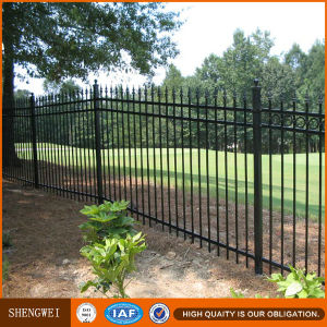 Anti-Rust Wrought Iron Fencing Made in China pictures & photos