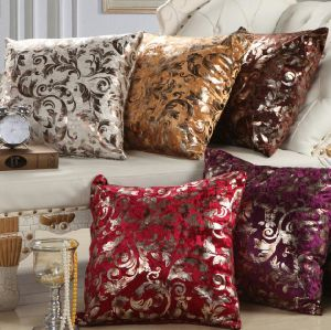 "18 X 18"" Decorative Cotton Linen Throw Cushion Cover (DPF10120) pictures & photos"