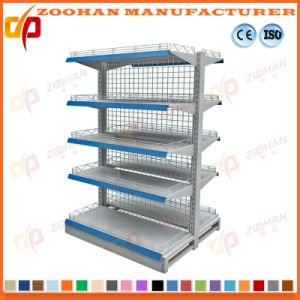 New Customized Supermarket Shop Wooden Shelving (Zhs265) pictures & photos