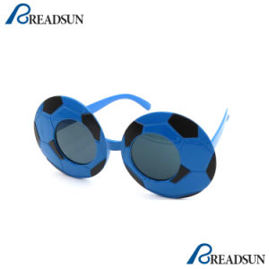 2018 Word Cup Fans Promotion Football Sunglasses for Kids pictures & photos