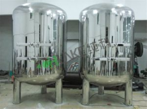 Stainless Steel 10t Sterile Water Filter Tank for Water Filter pictures & photos