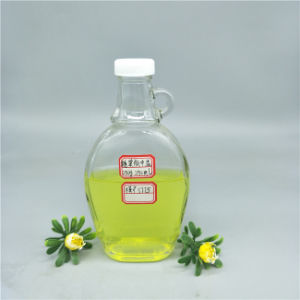 250ml Flat Syrup Glass Bottle with Plastic Cap