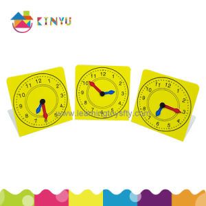 Educational Supplies of Plastic Clock Face for Students pictures & photos