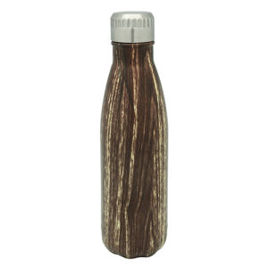 Stainless Steel Vacuum Water Bottle Wood pictures & photos
