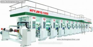 10 Colours High Speed Compound Rotogravure Press (HTYJM10-1050)