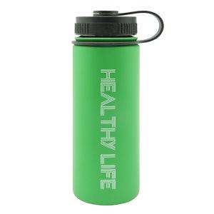 Stainless Steel Vacuum Sports Bottle with Loop 500ml