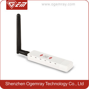 China 802 11n Ralink Rt3072 300Mbps Wireless USB WIFI Card with RP