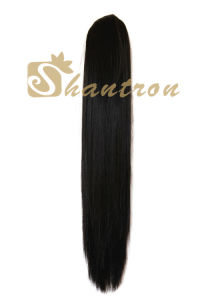 Ponytail Silky Straight 22inch Two Ways to Wear Hair Extension