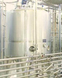Stainless Steel Milk Fermentation Tank jd3