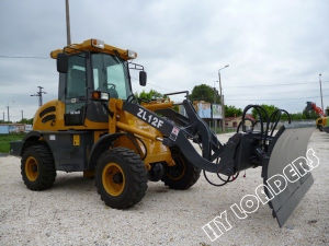 Construction Machinery Wheel Loaders with Snow Blade (ZL12F) pictures & photos