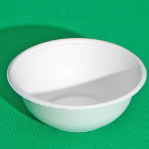 500ml Biodegradable Sugarcane Paper Bowl (FDA, LFGB, EN13432)