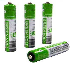 R03 AAA Carbon Zinc Battery (Green Volt) pictures & photos