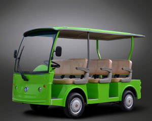 8 Passengers 4kw Electric Shuttle City Bus with Long Warranty