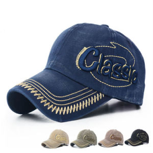 Fashion Embroidered Cotton Baseball Cap (YKY3043) pictures & photos