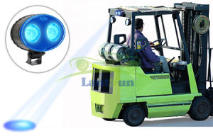 8W Blue LED Work Light Safety Spot for Forklift Truck