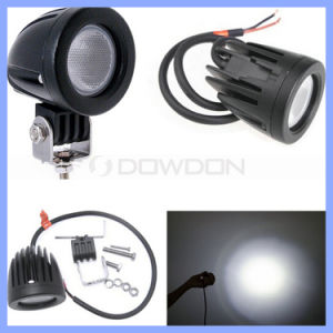 Round CREE Auto Flood Spot 10W CREE LED Work Light pictures & photos