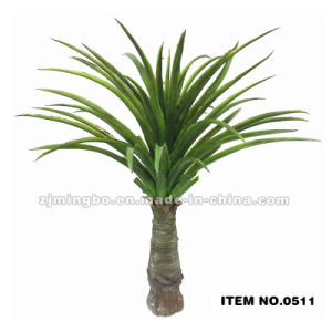 Plastic Artificial Bonsai Tree Artificial Tree Artificial Pineapple Leaf 0511