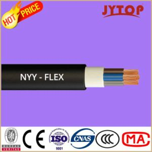 Yvv (NYY) Copper Cable, 0.6/1 Kv PVC Insulated Cables with Copper Conductor pictures & photos