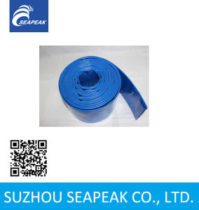 Flexible PVC Layflat Discharge Hose pictures & photos