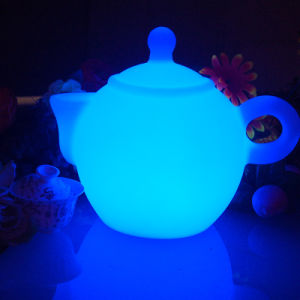 Big Sale Night Light Table Lamp Tea Pot LED Lamp pictures & photos