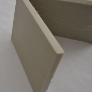 Gray Thick PP Plastic Sheet / Board pictures & photos