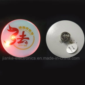 LED Flashing Pin Promotion Products with Customized Design (3161
