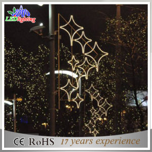 holiday street pole decoration custom outdoor christmas light