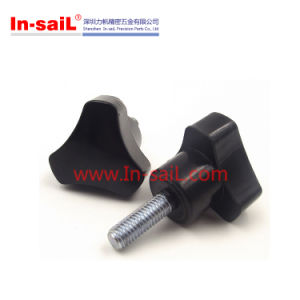 Three Label Plastic Machinery Knob pictures & photos
