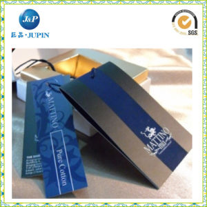 Professional Custom Garment Clothing Label Paper Hang Tag (JP-HT070) pictures & photos