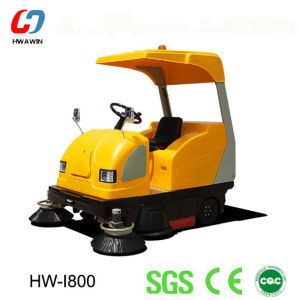 Electric Sweeper, Road Sweeper for Street Cleaning (HW-I800) pictures & photos