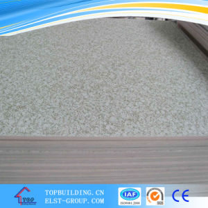 PVC Laminated Gypsum Board Ceiling Tile 595*595*7mm 603*603*9mm pictures & photos