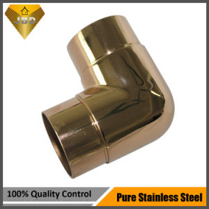Stainless Steel Pipe Accessories for Stair Balcony Handrail Railing Balustrade Project