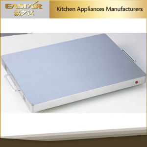 Tempered Glass Stainless Steel Sabbath Food Warming Tray pictures & photos