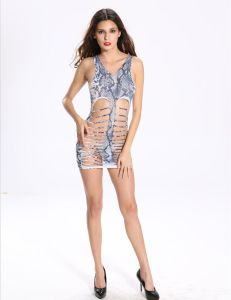 Sexy Camouflage Ladies Babydoll with Hollow out in Front pictures & photos