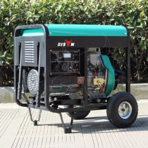 Bison (China) BS3500dce (H) 2.8kw 2.8kVA Long Run Time Factory Price Portable Self Start Diesel Generator pictures & photos