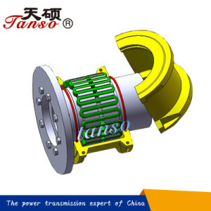 Flexible Gear Grid Coupling with Brake Plate Manufacturer pictures & photos