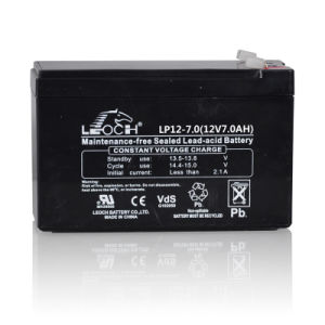 High Quality 12V 7ah Maintenance Free Lead Acid Battery for UPS