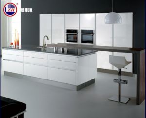 Plywood Waterproof Kitchen Cabinets Customized