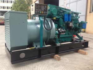 500kVA Engine Marine Diesel Generator Open Frame Type with Ce ISO