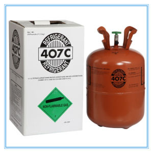 Refrigerant Gas R407c for Air Conditioner