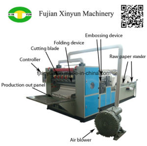 Automatic Double Embossing Facial Tissue Paper Making Machine Price pictures & photos
