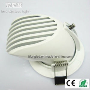 Top Rated 360 Degree Adjustable 7W 8W 9W COB LED Downlight pictures & photos