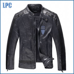 High Quality Brand Genine Leather Jacket pictures & photos