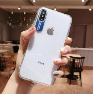 30e8027334 China Case iPhone X Xr Xs Max 6 6s 7 8 Plus Metal Lens Letters Clear ...