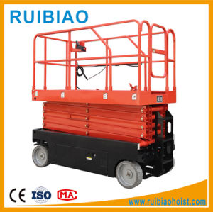 10 Meter Hydraulic Self Propelled Battery Scissor Lift Platform Ce pictures & photos